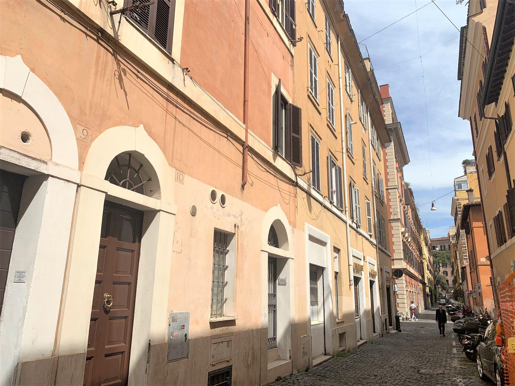 Mansarda Vicolo Delle Palline, Borgo Pio